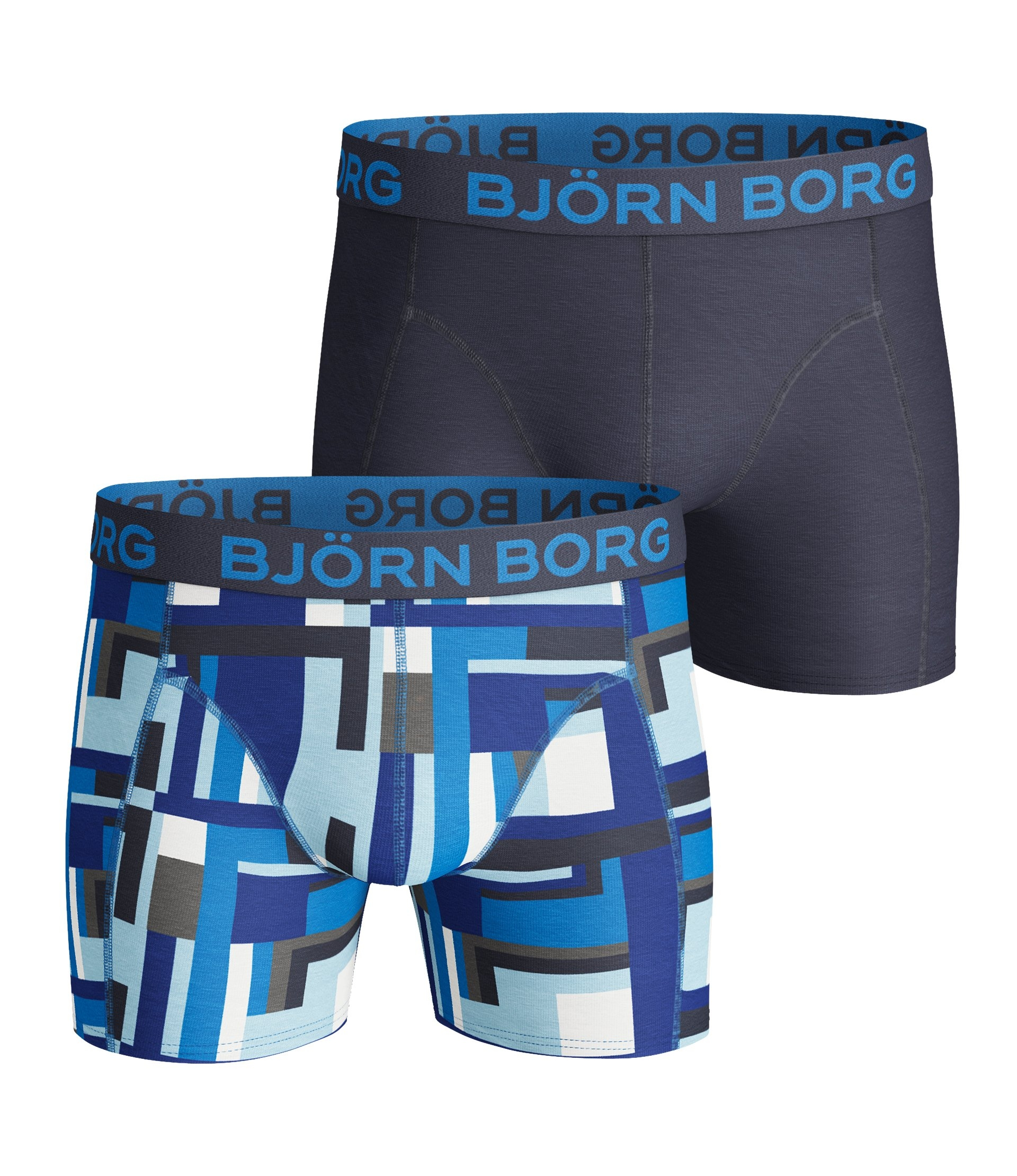Image of   Björn Borg 2-Pack Boxershorts (Surf The Web)