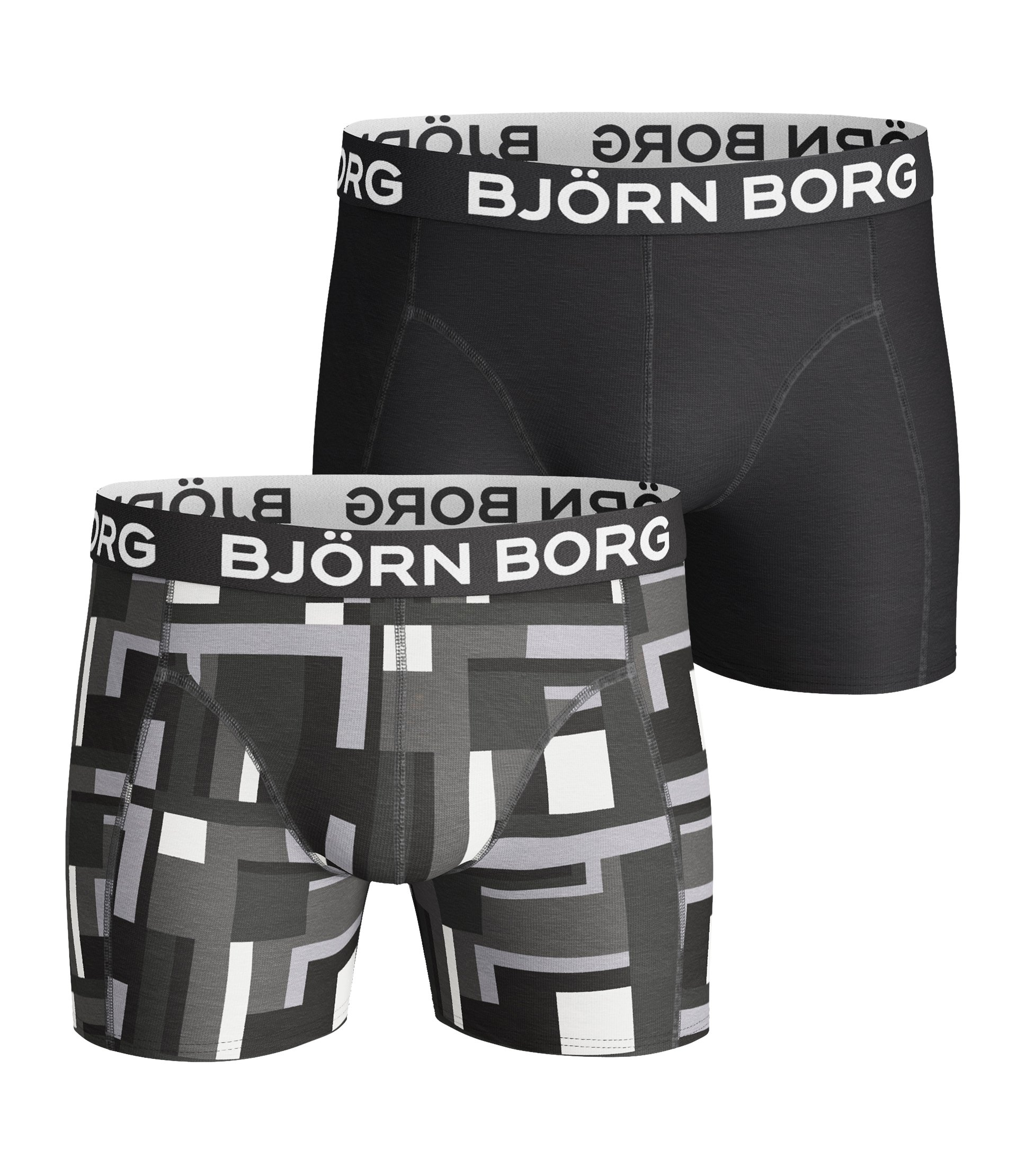 Image of   Björn Borg 2-Pack Boxershorts (Black Beauty)