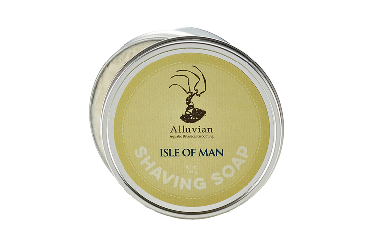 Image of   Alluvian Isle of Man Shave Soap Tin