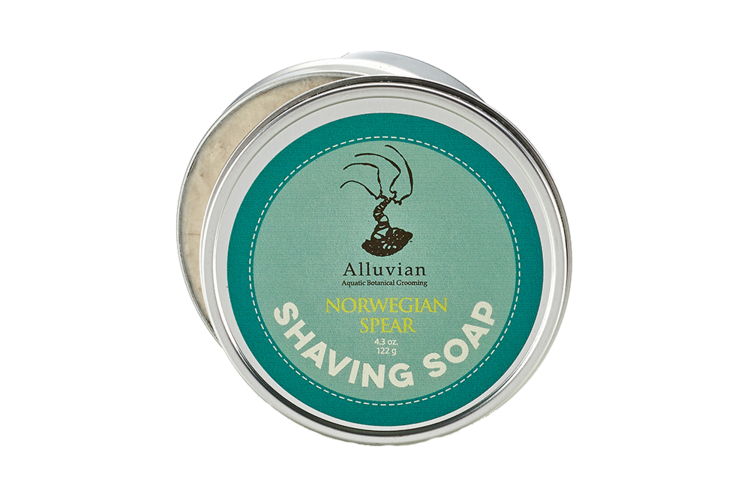 Image of   Alluvian Norwegian Spear Shave Soap Tin
