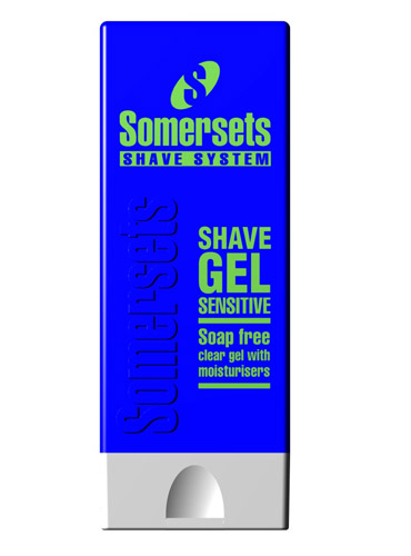 Billede af Somersets Sensitive Shaving Gel (200 ml.)