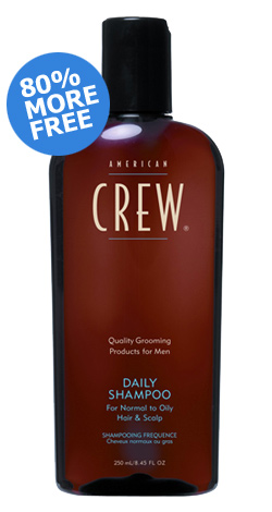 Image of   American Crew Daily Moisturizing Sjampo (1000 ml)