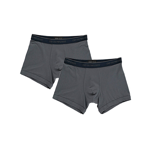 Image of   Emporio Armani 2-Pack Boxers (Grå)