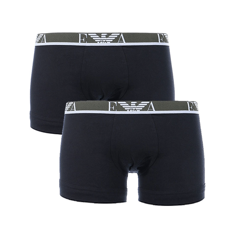 Image of   Emporio Armani 2-Pack Boxers (Sort)