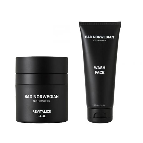 Image of   Bad Norwegian Gift Set Revitalize Face + Wash Face