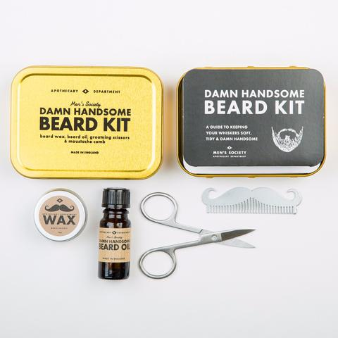 Image of   Mens Society Beard Grooming Kit