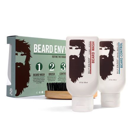 Image of   Billy Jealousy Beard Envy Kit (88 ml per flaske)