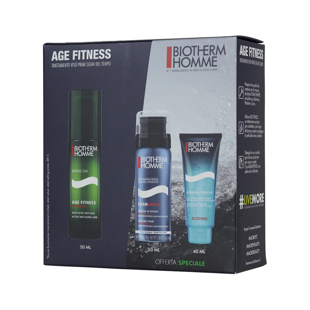 Image of   Biotherm Homme Fitness Age Kit