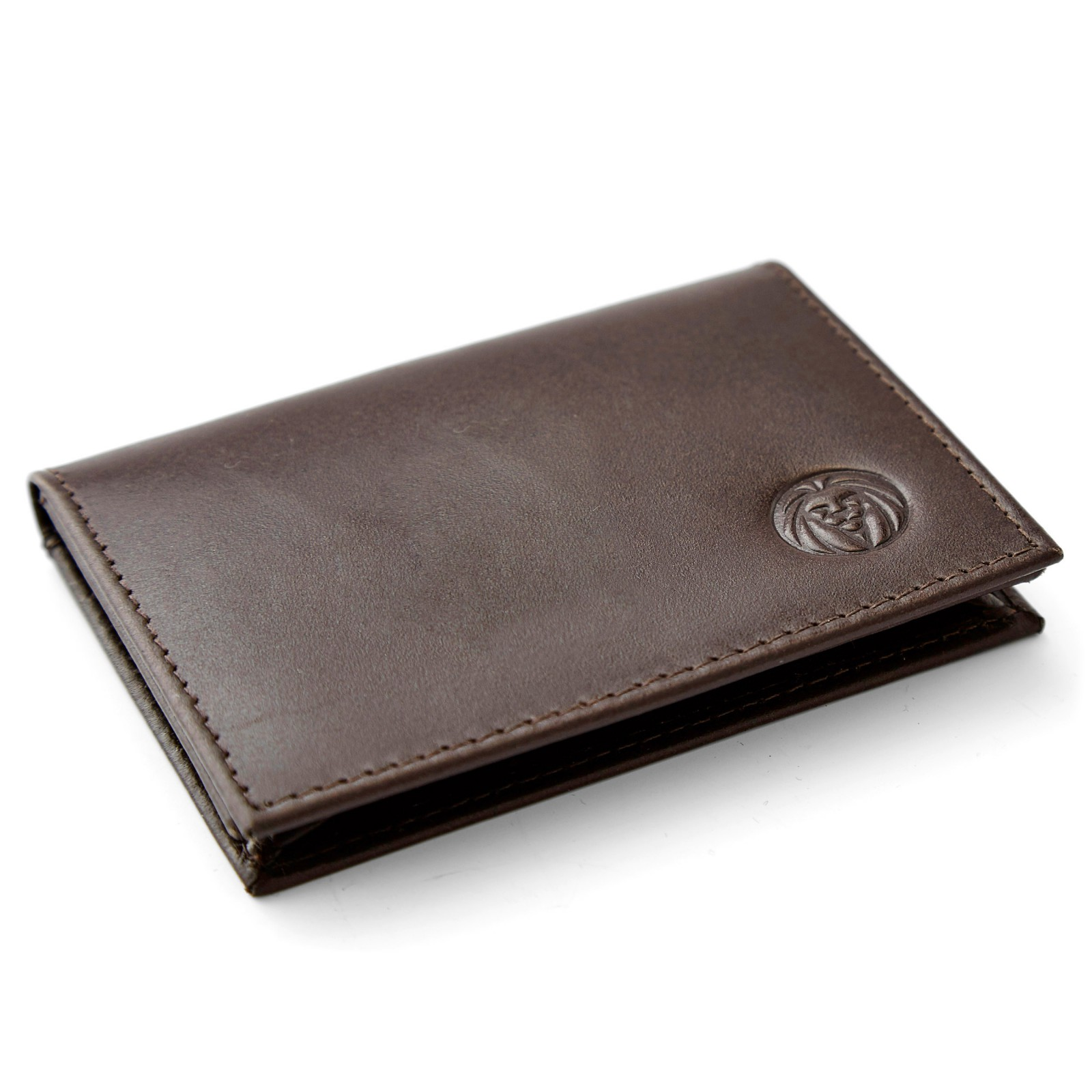 Image of   Lucleon Brown RFID Bifold Kortholder (Brun)