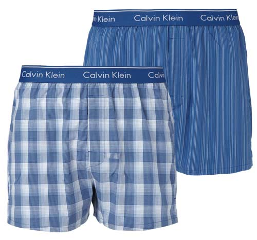 Image of   Calvin Klein 2-Pack Boxers (Stripete)