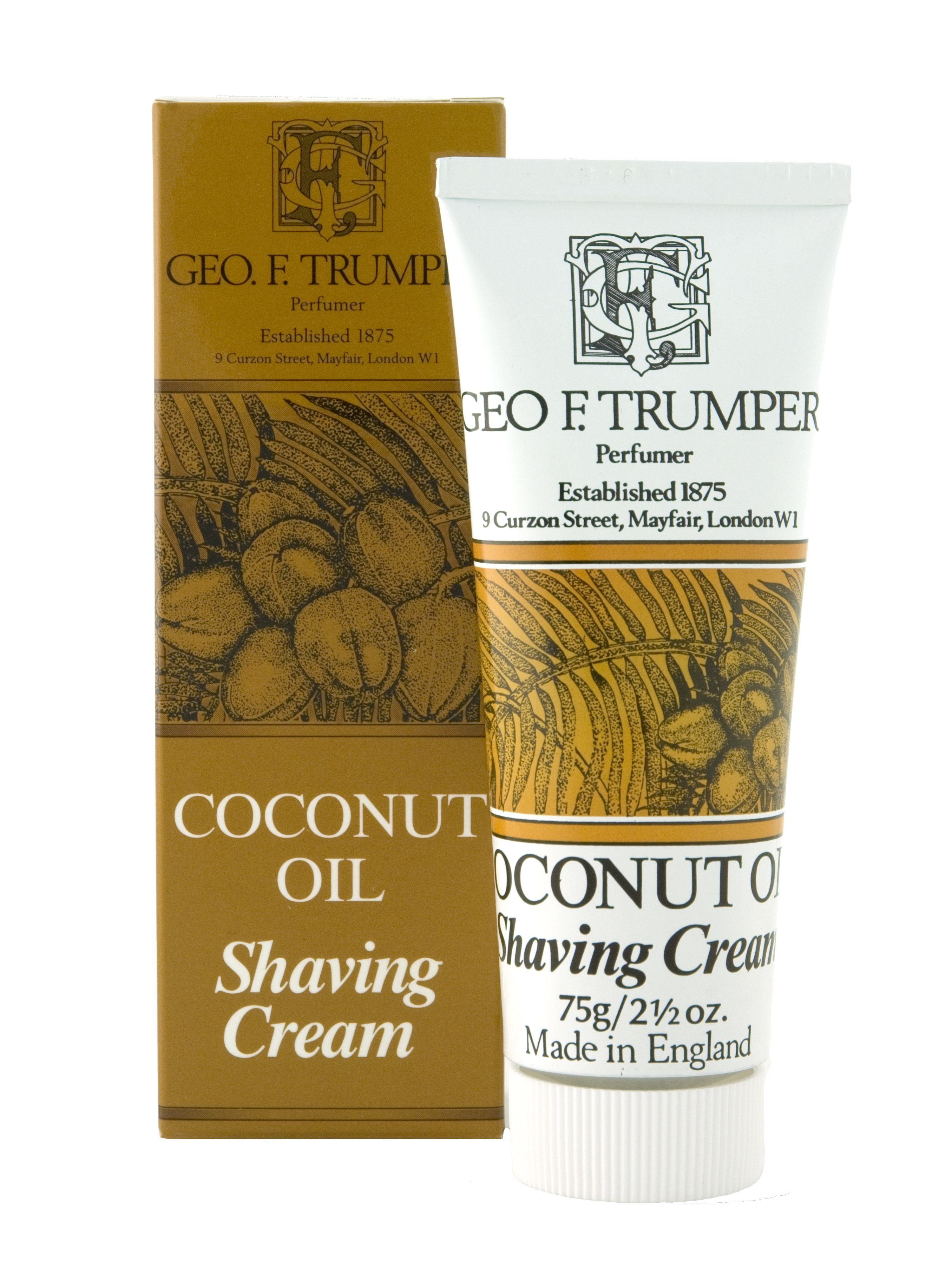 Image of   Geo F. Trumper Barberkrem Coconut (75 ml)