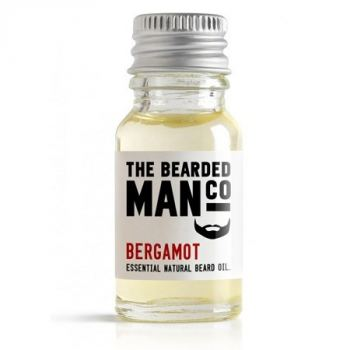 The Bearded Man Bergamot Beard Oil (10 ml) - kr 99 | Hurtig levering