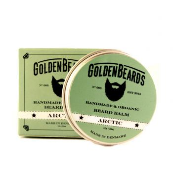 Golden Beards Økologisk Skægbalsam - Arctic (30 ml)