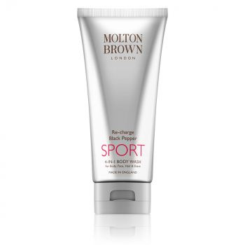 Molton Brown Re-Charge Black Pepper Sport 4 in 1 Body Wash (200 ml)