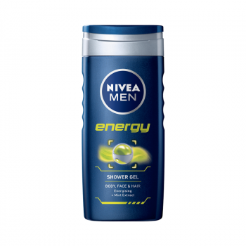 Nivea Energy for Men Shower Gel (250 ml) (made4men)