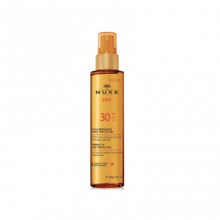 Nuxe Sun Tanning Oil Face & Body SPF30 (150 ml)