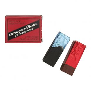 Giesen & Forsthoff Honing Strop Paste (2 pieces, Red/Black)