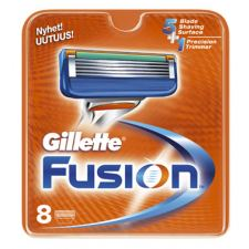 Gillette Fusion Barberblad (8-pakning)