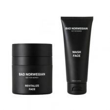 Bad Norwegian Gift Set Revitalize Face + Wash Face