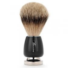 Baxter of California Black Silver Tip Shaving Brush (Silvertip Badger)