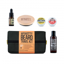 Mr Natty Travel Beard Wash Kit (made4men)