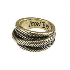 Icon Brand Belay It Down Ring (Guld)