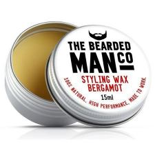 The Bearded Man Bergamot Beard Wax (15 ml) - kr 99 | Hurtig levering