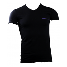 Emporio Armani 1-Pack V-Neck T-shirt (Sort)