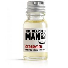 The Bearded Man Cedarwood Beard Oil (10 ml) - kr 99 | Hurtig levering