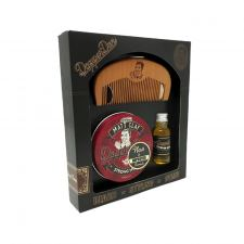 Dapper Dan Hair & Beard Ultra Matte Clay Gaveæske (made4men)