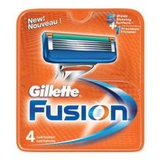 Gillette Fusion Barberblad (4-pakning)
