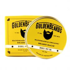 Golden Beards Økologisk Skægbalsam - Big Sur (30 ml)
