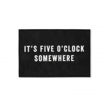 Men's Society 'It's Five O'Clock Somewhere' Bar Mat