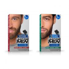 Just For Men Skægfarve (Medium Brown) + Just For Men Skægfarve (Dark Brown-Black)