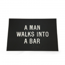 Men's Society 'A Man Walks Into A Bar' Bar Mat