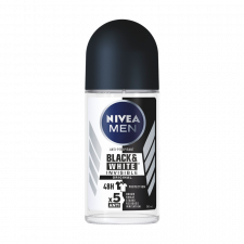 Nivea for Men Black & White Invisible Original Male Roll-on (50 ml)