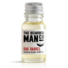 The Bearded Man Oak Barrel Beard Oil (10 ml) - kr 99 | Hurtig levering