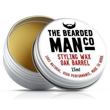 The Bearded Man Oak Barrel Moustache Wax (15 ml) - kr 99 | Hurtig levering