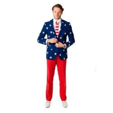 Oppo Suits Jakkesæt - Stars and Stripes - kr 809 | Hurtig levering