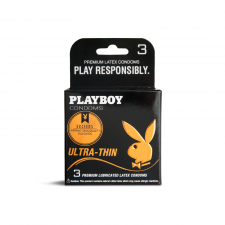 Playboy Condoms Ultra Thin (3 stk.)