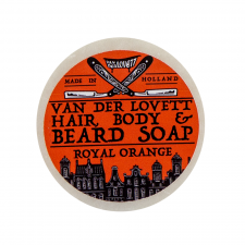 Van Der Lovett Hair, Body & Beard Shampoo Soap Bar Royal Orange (60 g)