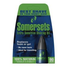Somersets Extra Sensitive Barberolje (15 ml.)