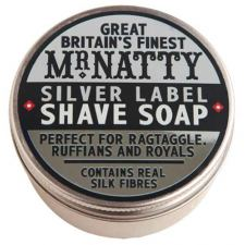 Mr. Natty Silver Label Shave Soap - Barberingssæbe (80 ml) - kr 209 | Hurtig levering