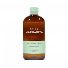 W&P Design Spicy Margarita Cocktail Kit Syrup