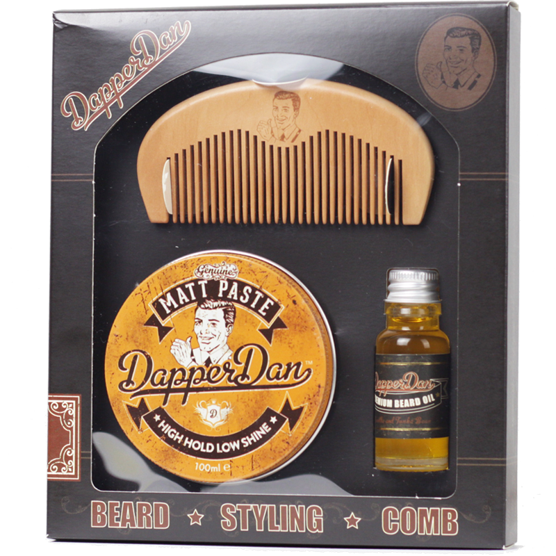 Image of   Dapper Dan Giftpack Beard & Hair
