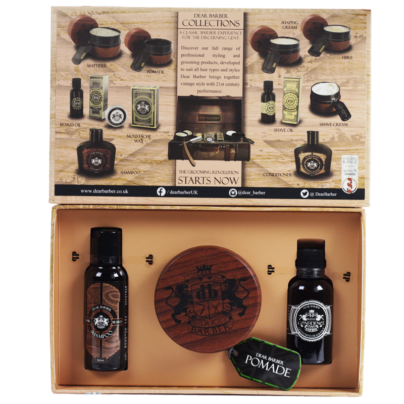 Image of   Dear Barber Giftset Collection 5 Pomade