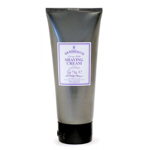 Image of   D.R. Harris & Co. Lavendel Luksus Barberkrem i Tube (75 g)