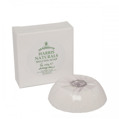 Image of   D.R. Harris & Co. Natural Barbersåpe Refill (100 g)