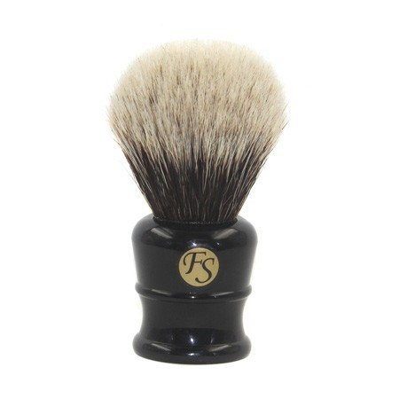Image of   Frank Shaving Svart Barberkost (Super Badger)