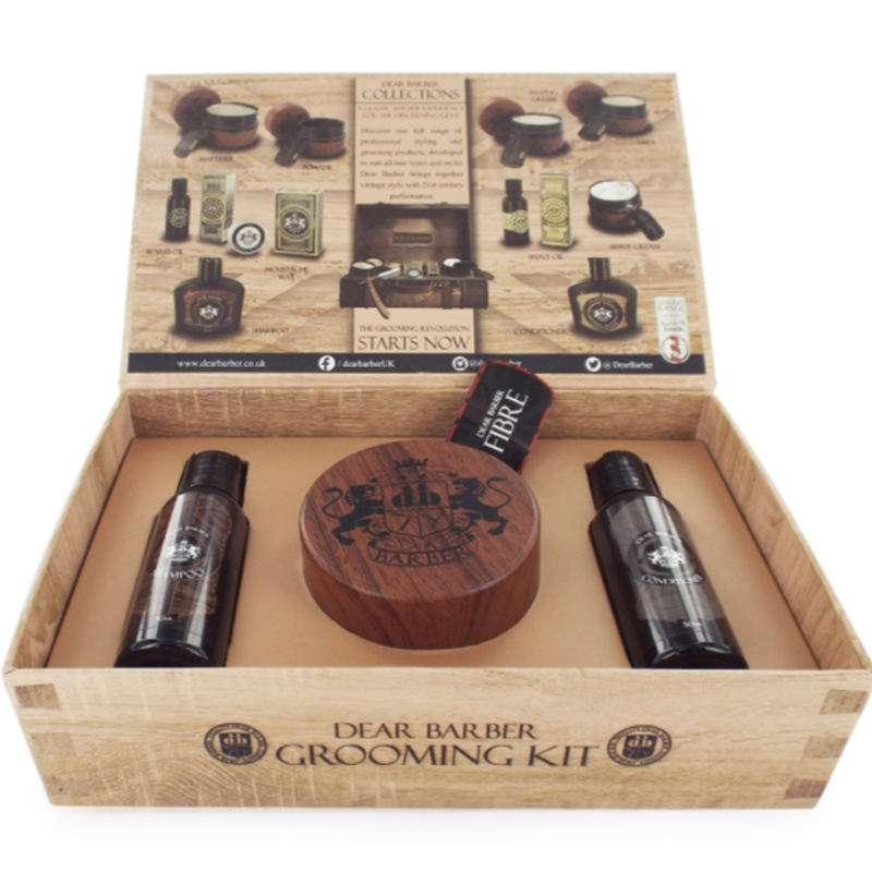 Image of   Dear Barber Giftset Collection 5 Fibre
